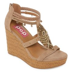 856a50765a721 Pop Margie Womens Wedge Sandals - JCPenney