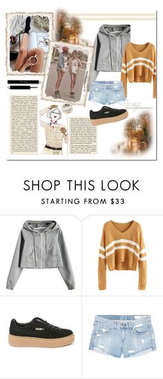 """""""Little sunshine"""" by almir-djulo ❤ liked on Polyvore featuring Puma, rag & bone/JEAN, GE and Garance Doré"""