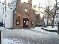 The English Reformed Church in the Begijnhof, Amsterdam, where Dominic and Abigail get married.