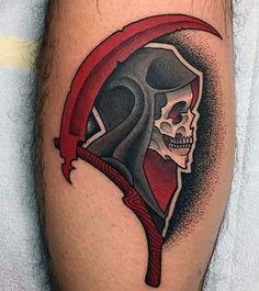 best grim reaper tattoos en iyi azrail dövmeleri