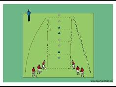Passing Pattern # 15 - YouTube Football Coaching Drills, Soccer Drills For Kids, Soccer Training Drills, Soccer Workouts, Good Soccer Players, Soccer Skills, Youth Soccer, Top Soccer, Soccer Ball