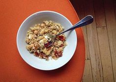 Do it right: To make quinoa flavorful, add to it things you like to eat.