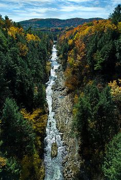 Quechee Gorge | Challenging to photograph well (especially a… | Flickr