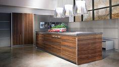 Великолепный дизайн кухонь от компании Werkhaus #Design #Creative #Interier