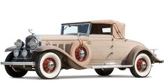 Cadillac 370-A V12 Convertible Coupe by Fleetwood (4535) '1930–31