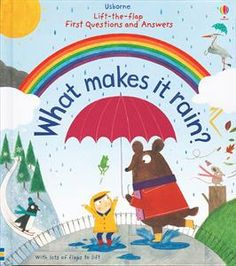 What makes it rain? How hot is the sun? Where does wind come from? Find out in this beautifully illustrated flap book