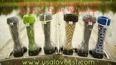 If you like UGG boots and rubber rain boots like Hunter, there are several made in USA boots to choose from.  Check out our favorite Made in USA Boots for Cool & Rainy Weather.