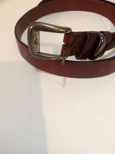 2 Color New 47 inches Genuine Full Leather Square Silver Clasp Belt For Mens