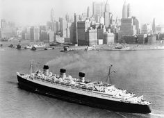 On the English lines such as Cunard and White Star, the experience for first-class passengers was like something between staying in the finest of hotels and being a guest in a grand stately home or royal palace. To be sure, the price demanded the highest level of service: In the mid-1930s a first-class ticket on the Queen Mary or the Queen Elizabeth cost in the range of 3-4 thousand dollards. In today's currency, that's 85-95 thousand dollars