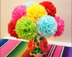 Tutorial mexican tissue flowers fit for a fiesta tissue flowers fiesta tissue paper flowers 12 count mightylinksfo Gallery