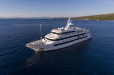 Luxury Motor Yacht KATINA -  Launched in 2015, superyacht KATINA is a beautiful 60-metre vessel, built by the Croatian shipyard Brodosplit. She has been designed to be one of the most exclusive motor yachts available for charter in Croatia or anywhere in the world.