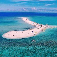 Stunning White Sand Vanishing Island In The Philippines - White Island In Camiguin