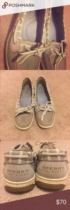 Sperry Top Sider Shoes These are adorable and in great condition. I received them as a gift and just don't find myself wearing them enough. I'm sure someone else can give them the love the deserve! Sperry Top-Sider Shoes
