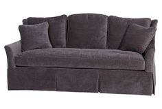 charcoal gray Parker sofa from Wesley Hall