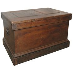 Carpenter's Chest | From a unique collection of antique and modern home accents at https://www.1stdibs.com/furniture/more-furniture-collectibles/home-accents/