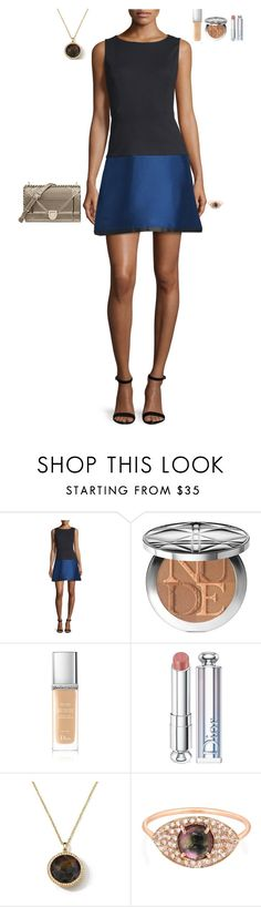 """""""Venture launch night"""" by stylev ❤ liked on Polyvore featuring Erin Fetherston, Christian Dior, Ippolita and Celine Daoust"""