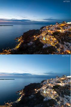 Santorini was so beautiful, especially at night. This preset really brings out the real ambience and showcases what we saw that night.