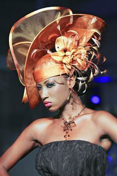 extravagant hats - Google Search