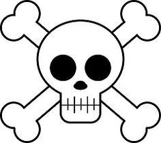 skull (Andrea Garza ~ AKA zerohdog) Tags: art digital fun skull graphic cartoon free pirate clipart bones illustrator vector jollyroger - Sites new Pirate Day, Pirate Theme, Disney Art Drawings, Skull Drawings, Pirate Costume Accessories, Pirate Clip Art, Pirate Coloring Pages, Simple Skull, Pirate Activities