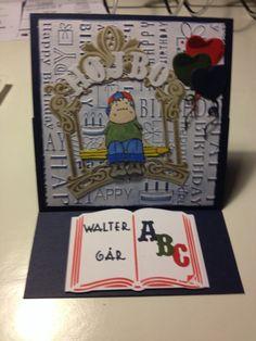 Kort til Walter 6 år