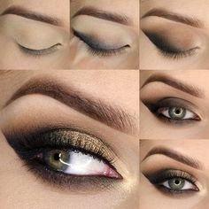 Lista para la noche. #Tutorial #ojos #MakeupGeek
