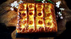 Pasca cu smantana – Retetele mele dragi Lasagna, Waffles, Caramel, French Toast, Cheesecake, Breakfast, Ethnic Recipes, Desserts, Easter Ideas