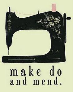 love the vintage singer sewing machine.