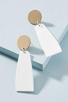 Earrings Handmade Thousand Miles Drop Earrings - Diy Clay Earrings, Women's Earrings, Earrings Handmade, Handmade Jewelry, Diy Jewelry, Jewelery, Jewelry Design, Fashion Jewelry, Jewelry Making