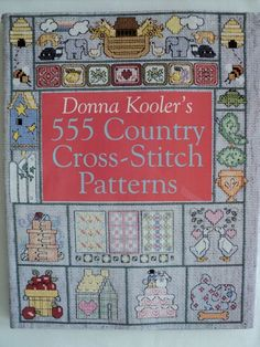 555 Cross Stitch Country Cross Stitch by DocksideDesignsEtc, $10.00