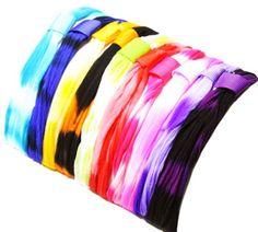 Tie Dye Panty Hose Headbands