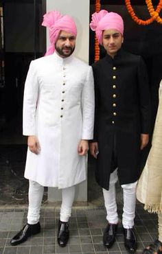 B W Jodhpuri Soha Ali Khan Wedding Stani Bridal Dresses Men