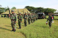 Kegiatan latihan menembak prajurit TNI di wilayah
