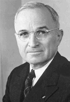 #33 - Harry Truman President Way back when they referred to Presidents as Mr. President not Mr. Truman.