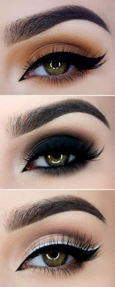Gorgeous Makeup: Tips and Tricks With Eye Makeup and Eyeshadow – Makeup Design Ideas Eye Makeup Tips, Makeup Geek, Makeup Goals, Hazel Eye Makeup, Smokey Eye Makeup, Eye Brows, Gorgeous Makeup, Pretty Makeup, How To Apply Eyeliner
