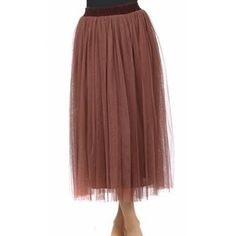 A-Line Tulle Skirt - apostolicclothing-com
