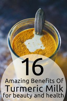 16 Amazing Benefits Of Turmeric Milk For Beauty And Health