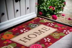 Patterned Floor Mat | Entry Floor Mats | Colorful Floor Mats | Stylish Floor Mats | Studio 67 Floor Mats | Non-Skid Floor Mats | Designer Floor Mats | Entryway Mats | Welcome Mat | Home Floor Mat