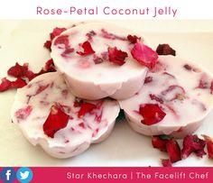 Rose-Petal & Coconut Vegan Jelly