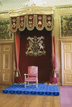 The throne. windsor castle the garter throne room - Google Search