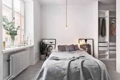 Clean grey space