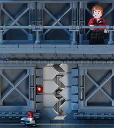 Doorway to LEGO Nexo-classic space