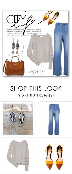 """J. Bird's"" by amra-mak ❤ liked on Polyvore featuring TIBI, T By Alexander Wang, Gianvito Rossi, Longchamp, women's clothing, women, female, woman, misses and juniors"