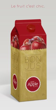 """Bon Jus"" apple juice by Alfredo Maddaluno"