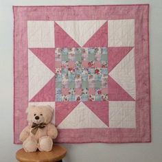 Handmade Baby Quilt, Baby Girl Quilt, Baby Shower Gift, Pink Quilt, Baby Blanket, Toddler Quilt, Patchwork, Baby Christmas, Nursery Bedding Baby Patchwork Quilt, Pink Quilts, Baby Girl Quilts, Quilt Baby, Baby Girl Blankets, Girls Quilts, Handmade Baby Quilts, Toddler Quilt, Quilt Labels