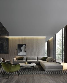 The contemporary design is all about simplicity, functionality, and elegance. Here are some stunning contemporary living room design ideas. Contemporary Bedroom, Contemporary Design, Contemporary Building, Contemporary Cottage, Kitchen Contemporary, Contemporary Apartment, Contemporary Wallpaper, Contemporary Chandelier, Contemporary Architecture