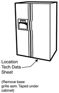 Whirlpool BSNF 8421 OX Refrigerator Service Information