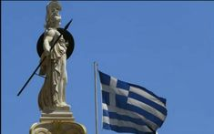 Statue of Goddess Athena, University of Athens, Greece Mykonos, Greece Tourism, Greece Pictures, Europe News, May Bay, Athena Goddess, Samos, Ancient Beauty, Alexander The Great