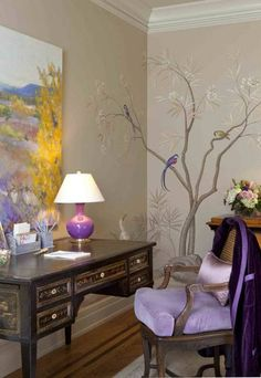 Wallpaper will change the design of the walls cardinally