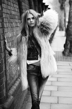 Cara Delevingne Pepe Jeans London Autumn Winter 2013 Campaign | Grazia Fashion