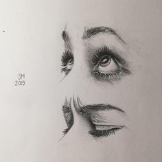I attempted to sketch some eye expressions today. Pretty happy with the bottom pair!